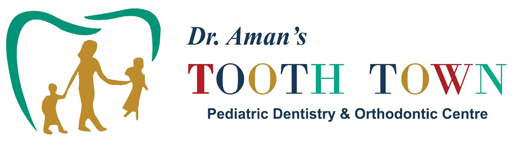 Dr. Aman Tooth Town Dental Clinic Logo